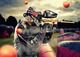 Paintball shoot foto